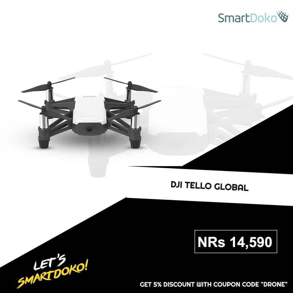 Experience the world from exciting new perspective with DJI Tello