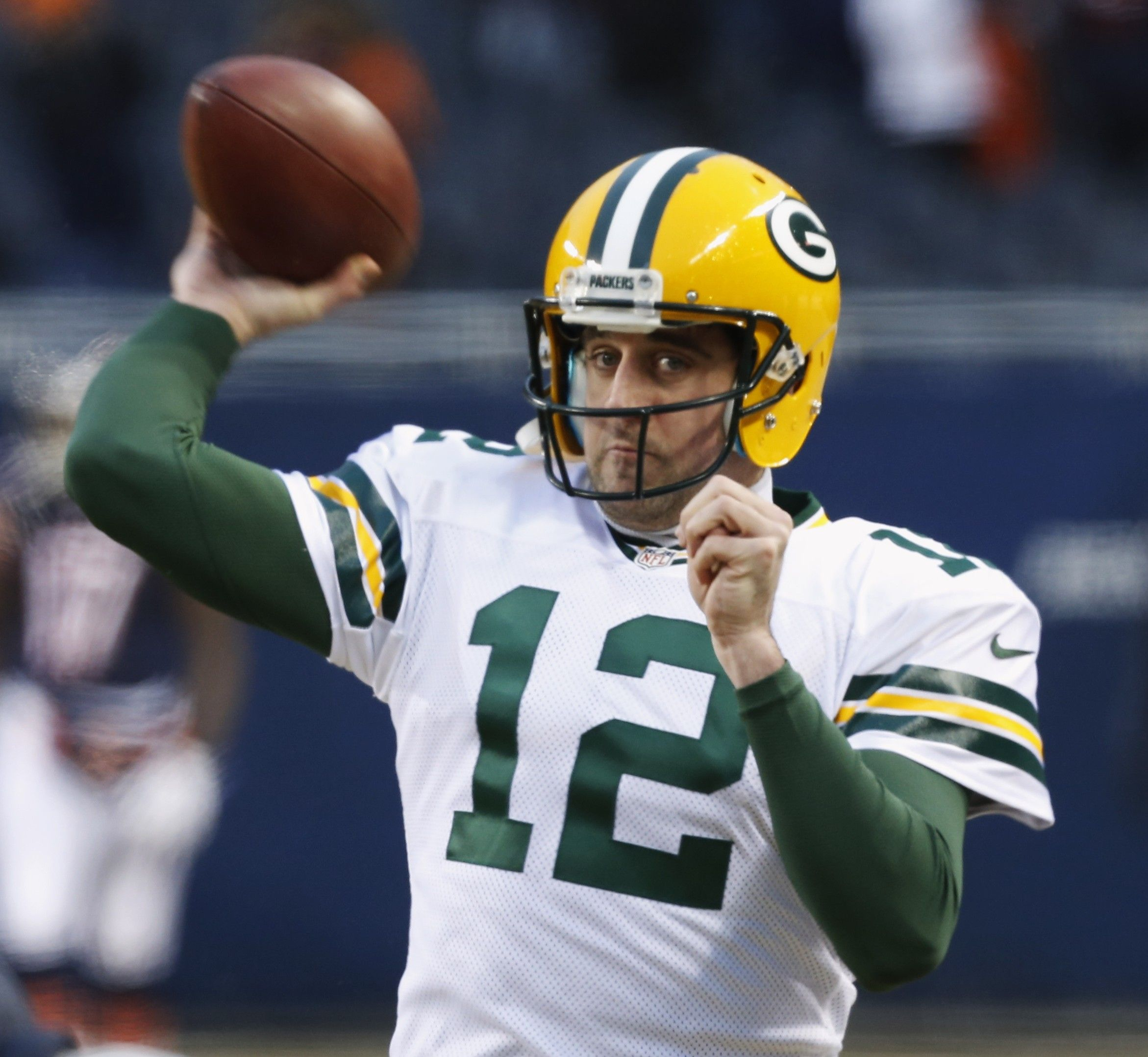 Go Pack! Quarterback Aaron Rodgers is doing yoga - getting his Zen back!