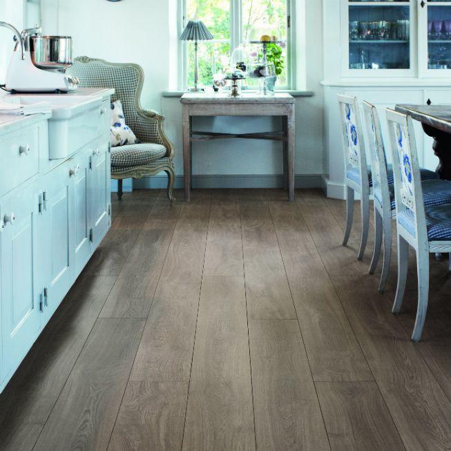 Laminate Flooring Pergo Burnt Oak Long Plank