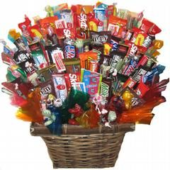 Big Daddy Candy Bouquet Edible Gift Basket by AC Bouquet Candy Bouquets & Gift Baskets Spokane 99204