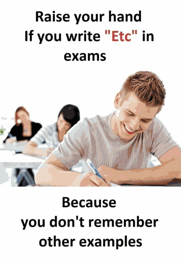 It happens (With images) Funny school jokes, Exam quotes