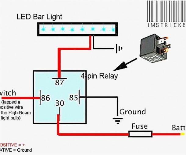 Led Light Bar Wiring Harness Diagram Led Light Bars Bar Lighting Led Boat Lights