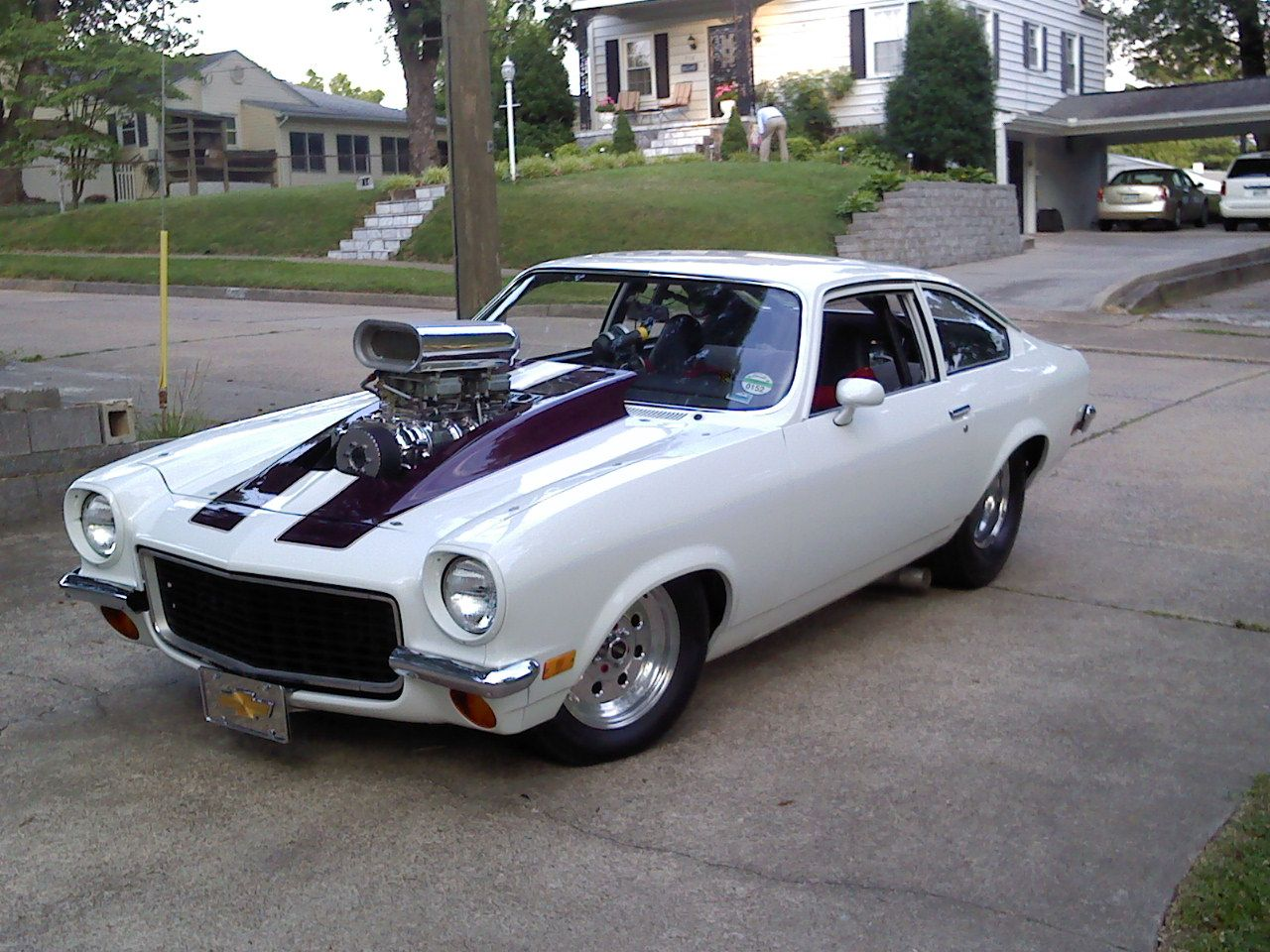 1971 Chevrolet Vega Come To Think Of It When Was The Last Time You Saw A Stock Vega Monza Or Maverick In The Wild Not Chevrolet Vega Cool Cars Muscle Cars