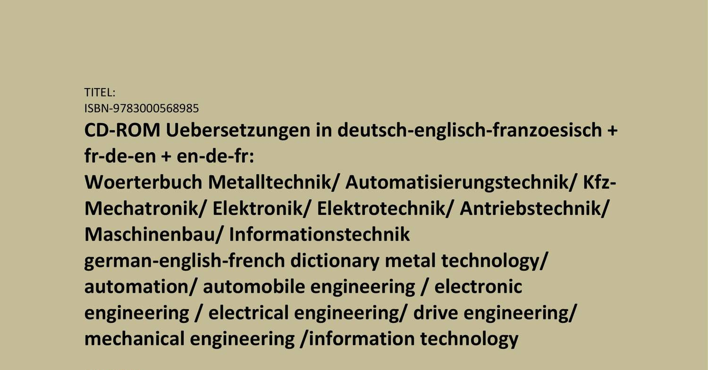 Franzoesisches Technik Vokabular Sprachlernsoftware Vorteile Pdf Franzosisch Worterbuch Englisch Franzosisch Sprachen Lernen