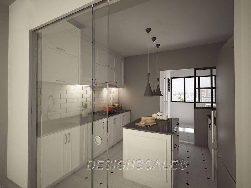 Hdb 4 Room Resale Modern Victorian Woodlands Drive Interior Design Singapore Minimalist Kitchen Design Interior Design Singapore Kitchen Remodel Design