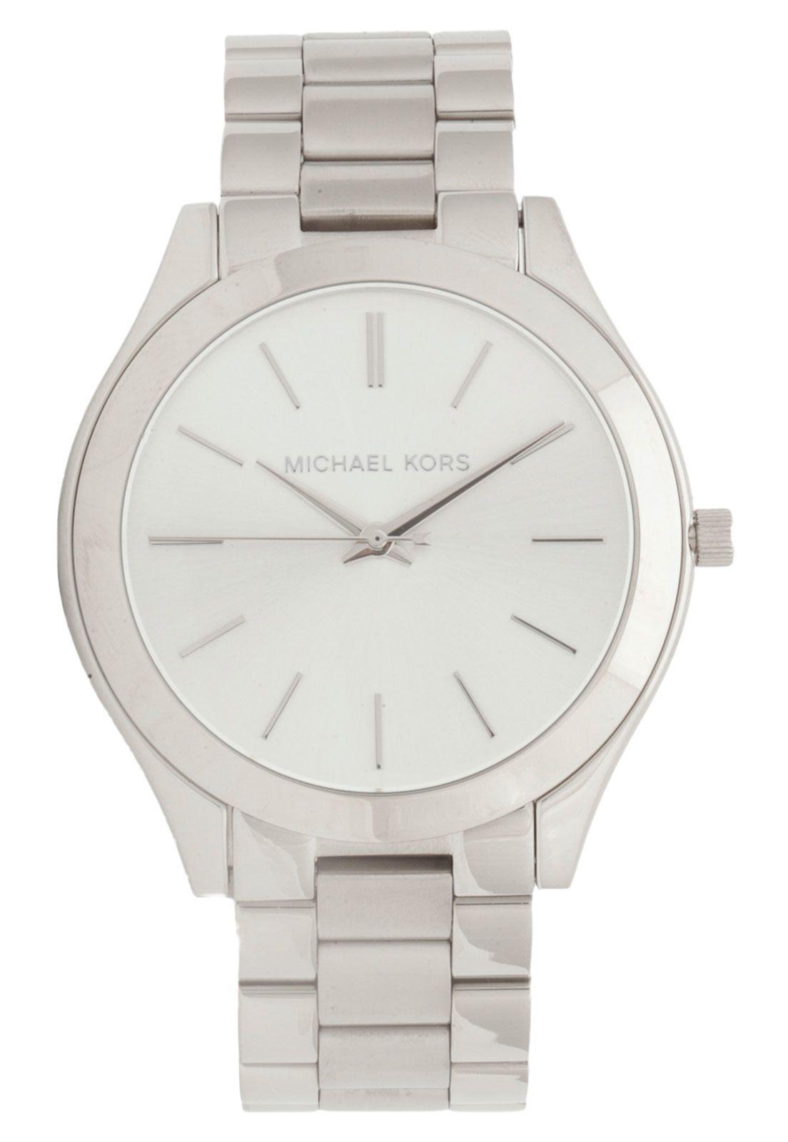 56faf82e818f1 Relógio Michael Kors MK3178 1KN Prata   Products   Michael kors ...