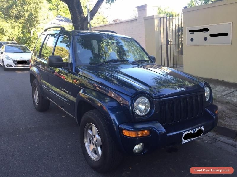 For Sale 2003 Jeep Cherokee Limited Kj Bargain Repair Or Spares