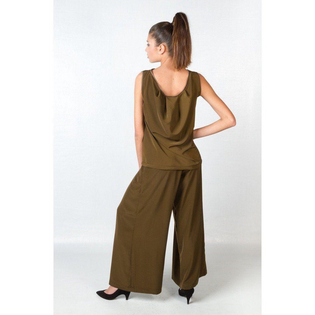 womens tall brown dress pants