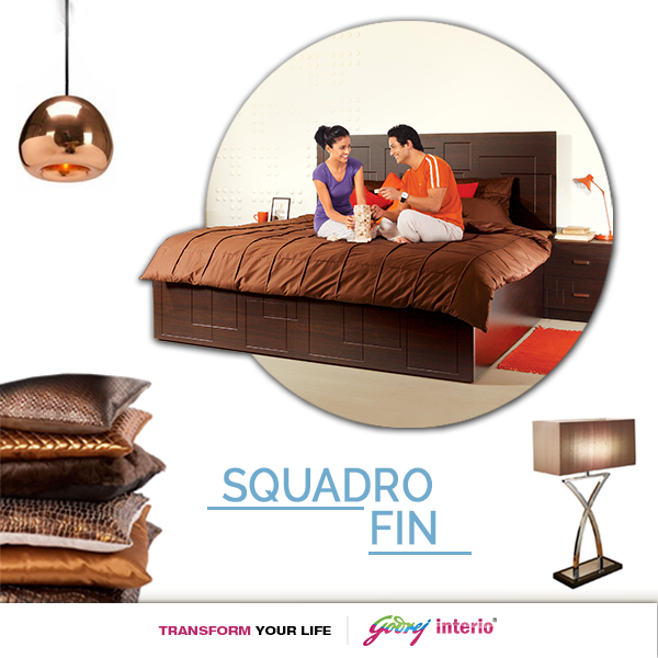 Bring elegance to your room with our SQUADRO bed   godrej  interio   furniture. Bring elegance to your room with our SQUADRO bed   godrej  interio