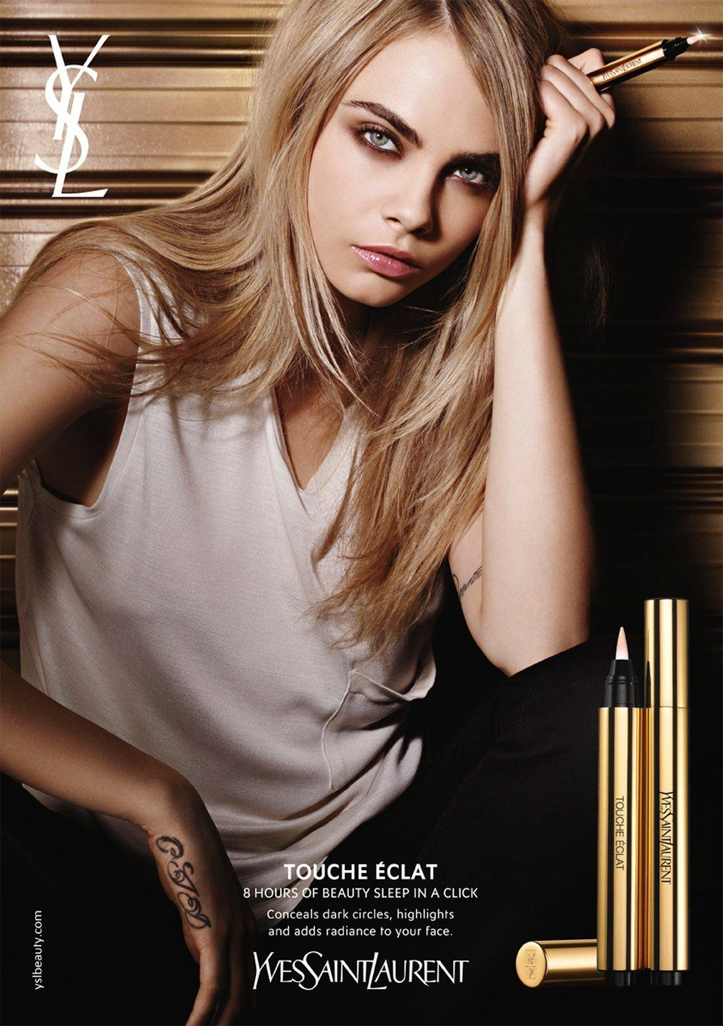 picture Cara Delevingne's New YSL Ad Will Make You Ditch Your OldMascara