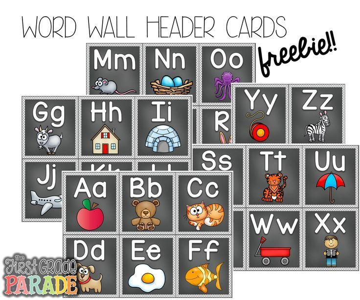 FREE Word Wall Header Cards Follow for Free  - indeed post resume