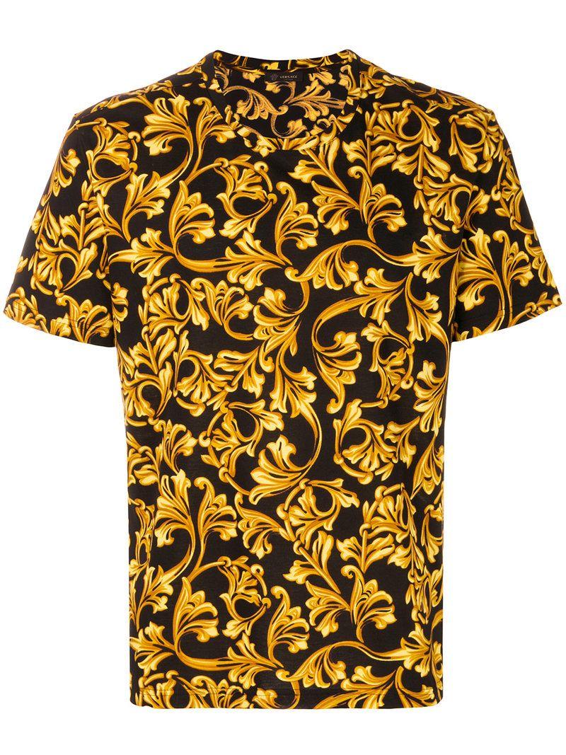 1f02a641d VERSACE VERSACE - BAROQUE PRINT T. #versace #cloth # | Versace Men ...