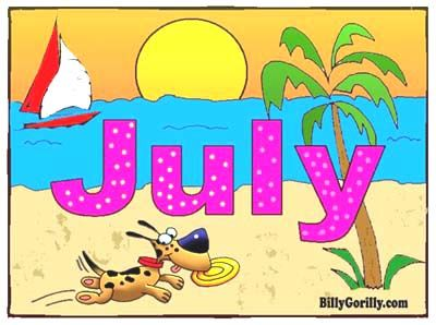 month of july Download Print