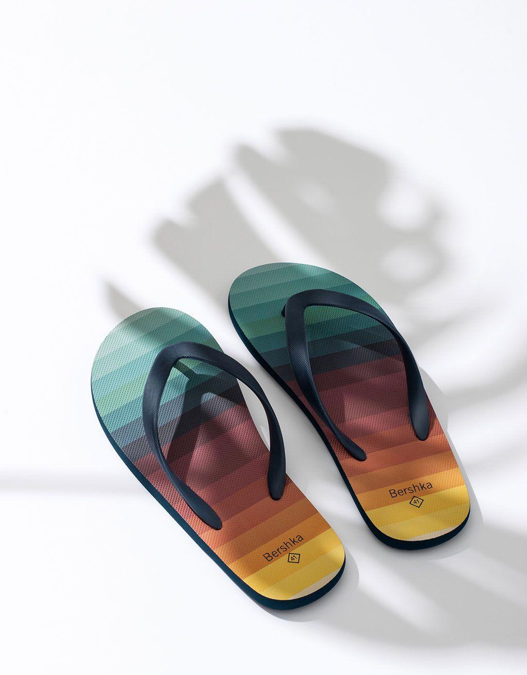 Thongs Sandals Comfort Slippers for Beach ALLAK Mens Flip-Flops
