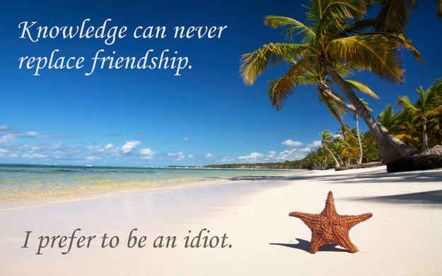 If Patrick Star Quotes Were Motivational Posters Beach