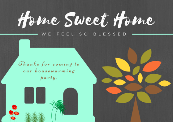 Housewarming Thank You Cards Free Printables Free Printable Cards Thank You Cards House Warming