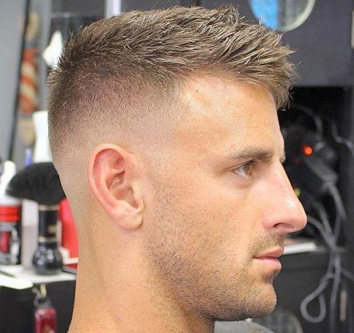 Haircuts For Balding Men - High Bald Fade with Crew Cut | haircut ...