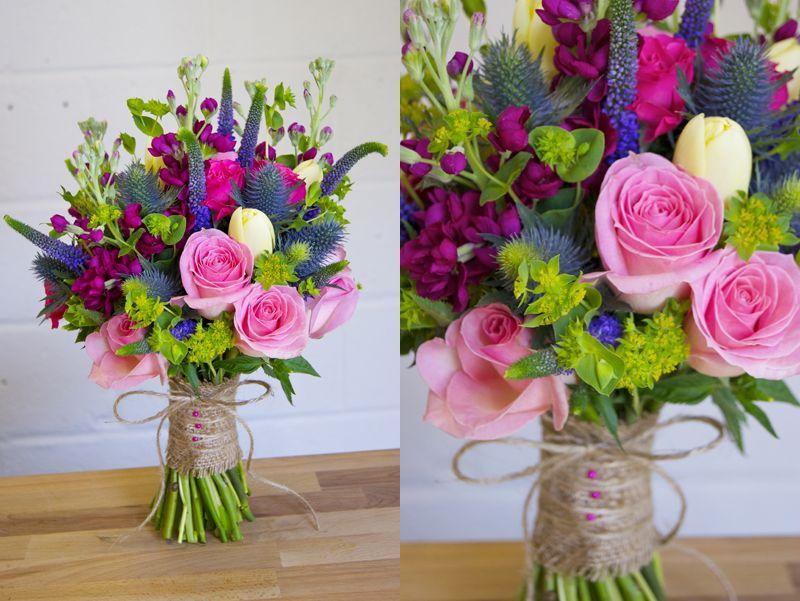 Wedding Flowers Bright Wedding Flowers