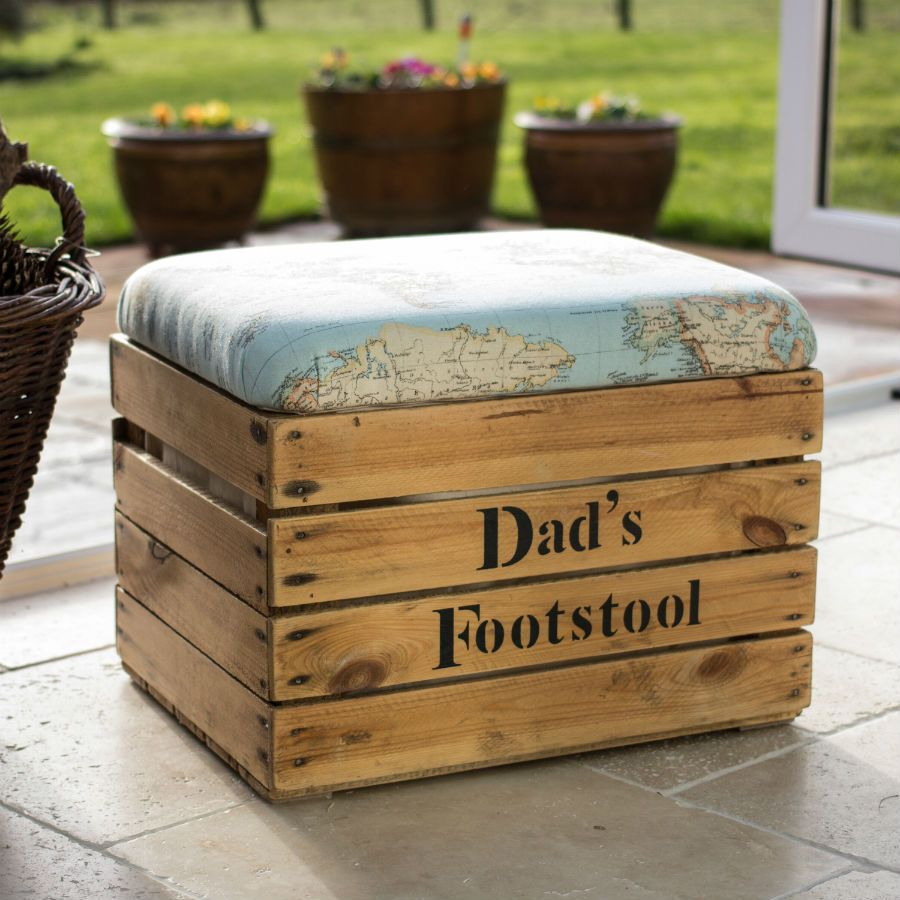 Cheap Footstools With Storage Personalised Handmade Footstool Storage Box Decorao Sala