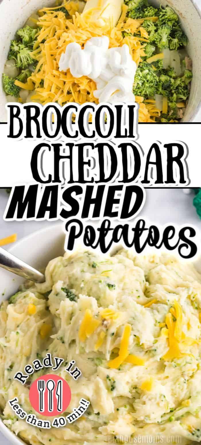 Broccoli Cheesy Mashed Potatoes