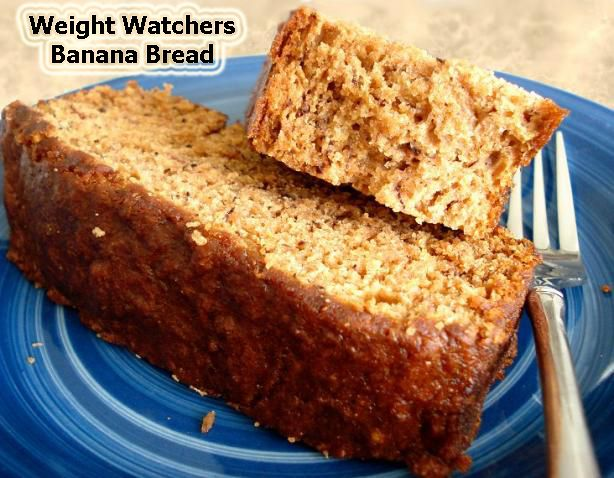 Weight Watcher 1 Point Banana Bread Flex Points Recipe In 2019 Healthy Bread Pastry