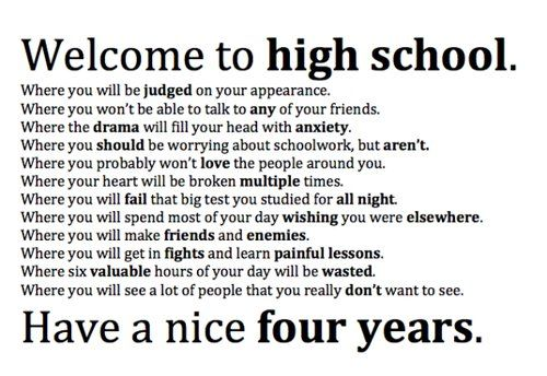 Quotes About High School Drama