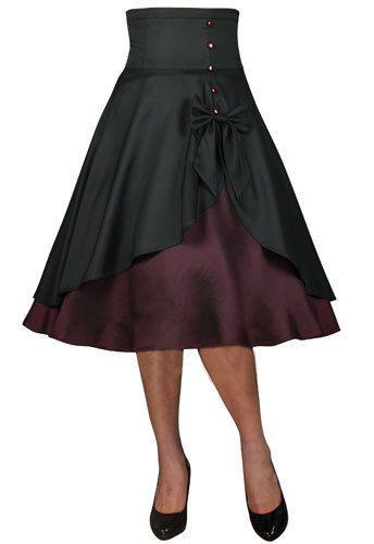 2911aacfd Rockabilly-Work-Vintage-Pin-Up-Formal-Retro-Swing-Dress-50s-Dance-Skirt