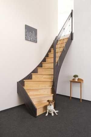 elegant ins dachgeschoss berall dort wo wenig platz ist sorgen raumspartreppen f r einen. Black Bedroom Furniture Sets. Home Design Ideas