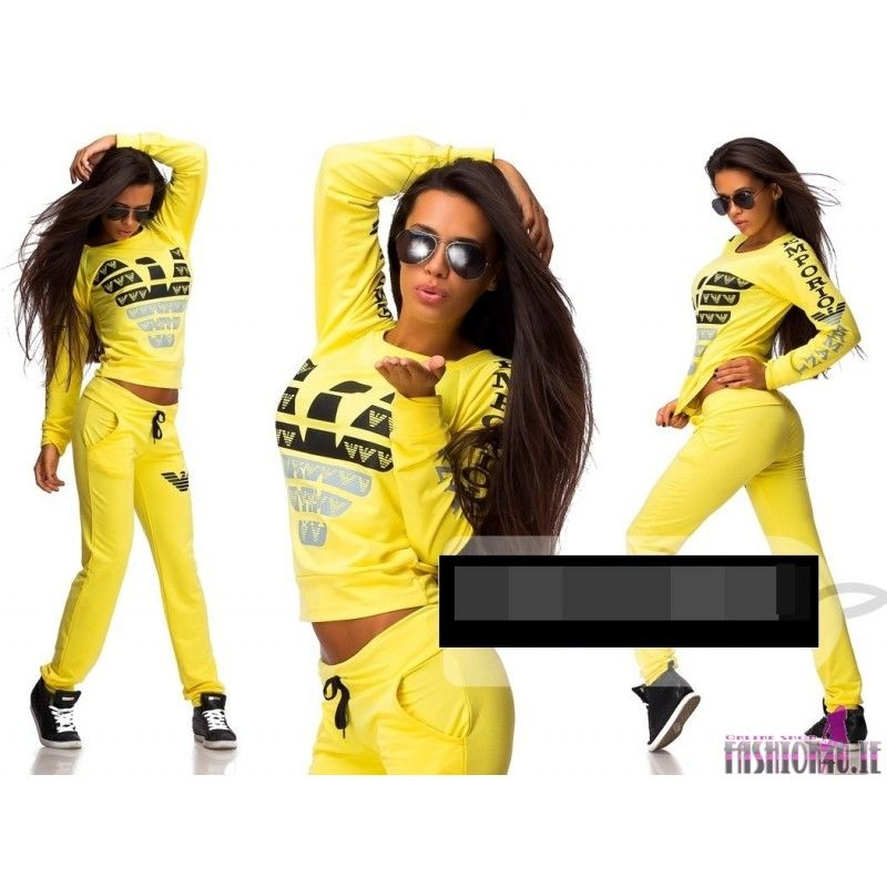 d0cbd975cb0 Trendy Women's Tracksuits, sweatsuits stylish suits neon yellow Sweatpants  Outfit, Adidas Outfit, Jogging