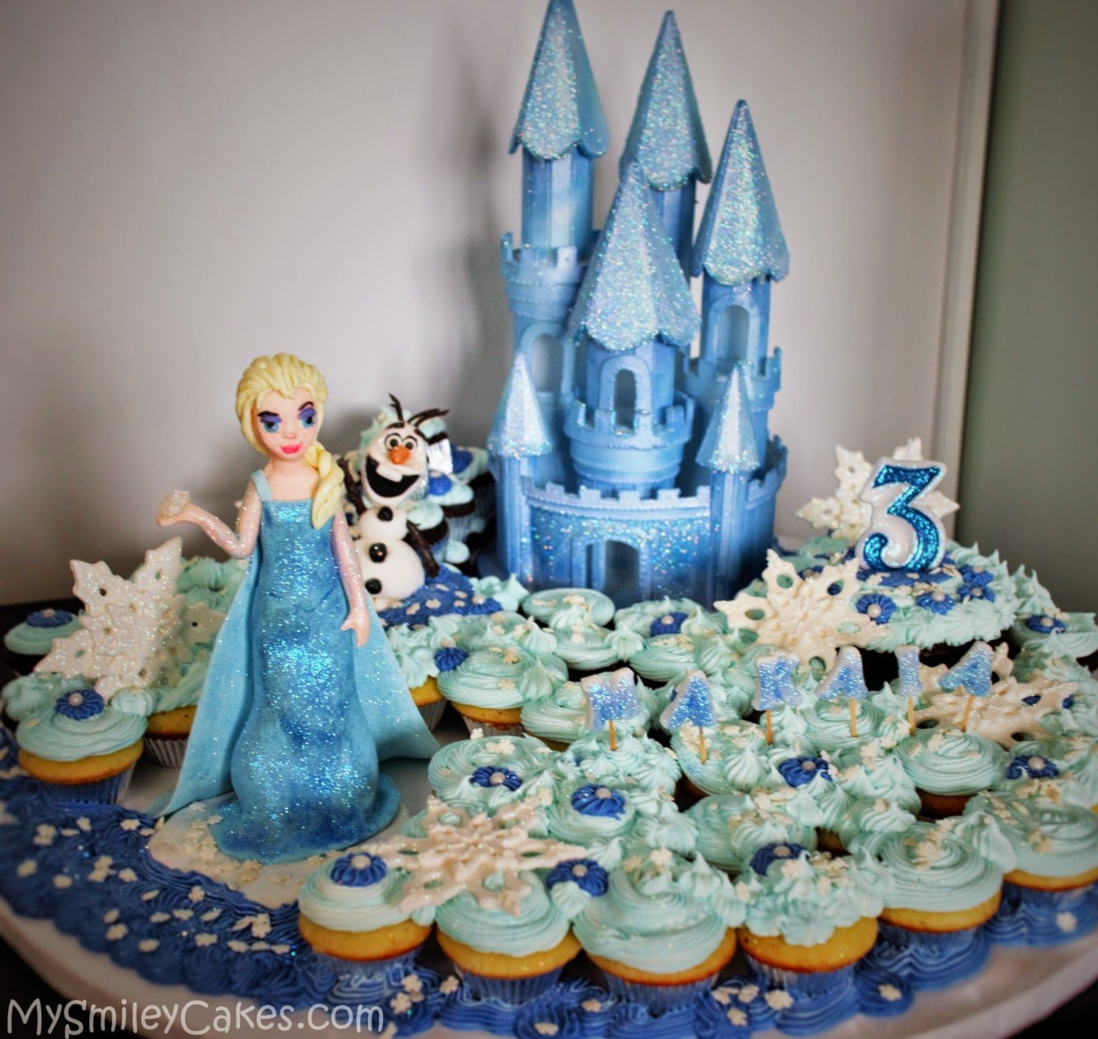 Cake Boss Cupcake Decorating Ideas : Cake Boss Frozen Cakes Disney Frozen Themed Cupcake Cake ...