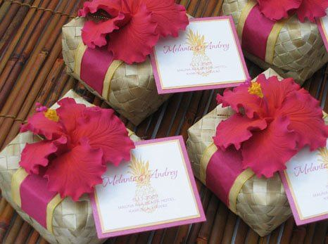 tropical party favors ~ fill with salt water taffy