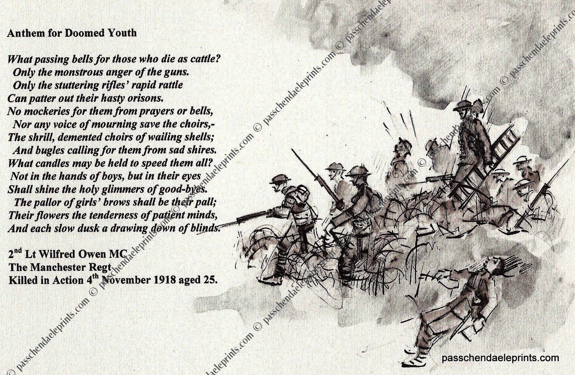 anthem for doomed youth analysis pdf