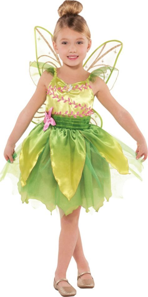 Girls Classic Tinkerbell Costume Party City Viejo Pascuero Debes