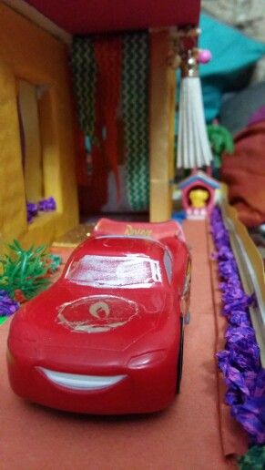 Toy Car In Pakka House Model Craft Ideas Pinterest Craft