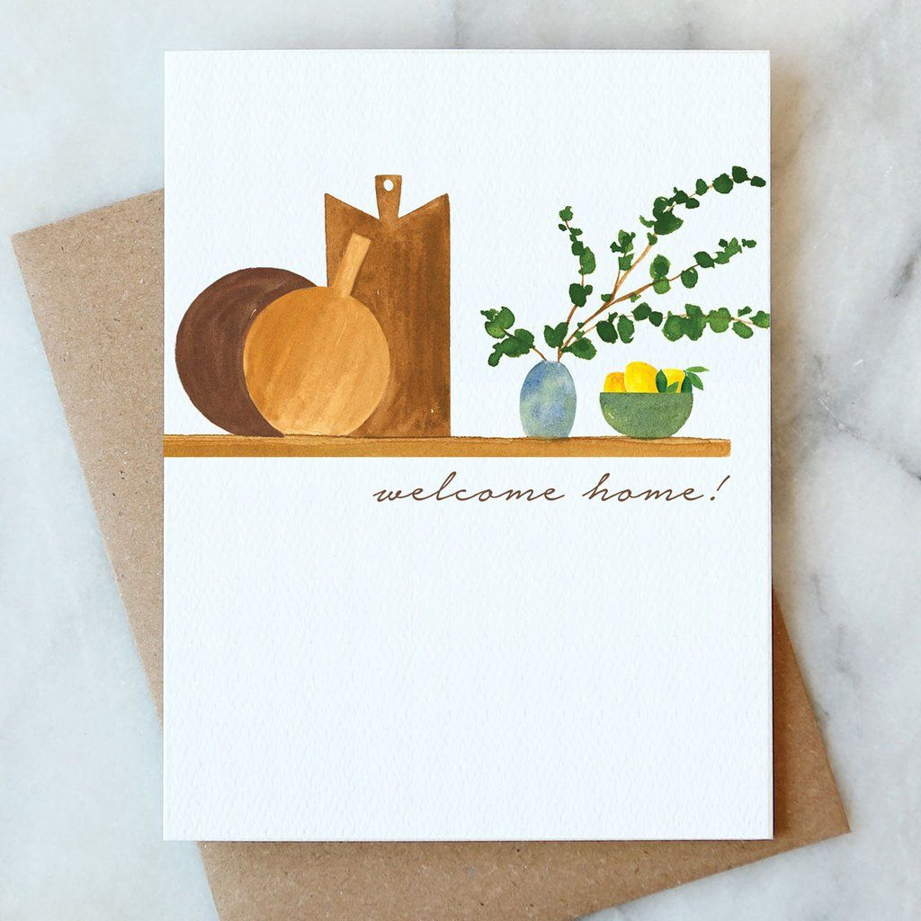 welcome home card in 2021  cards housewarming greetings