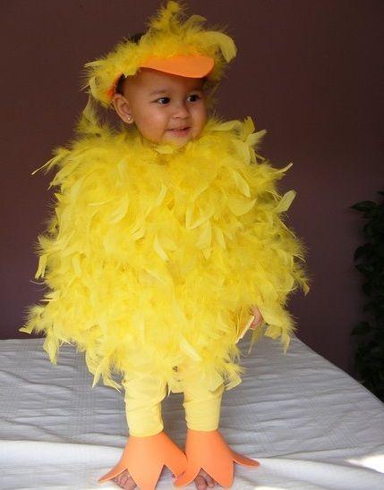 disfrazcaserobebepollito Halloween Pinterest Disfraces