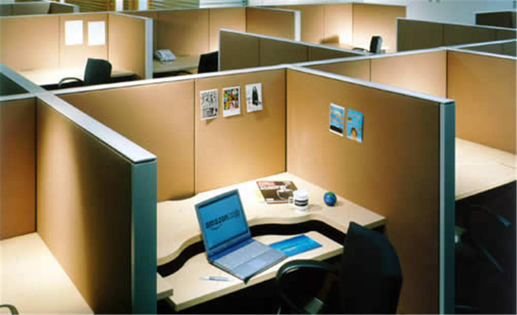office with cubicles. The Angle Of Cubicle, Layout Cubicle. I Like For When Jim Is Feeling His Neck Just Before He Cracks It. | Pinterest Cubicle Office With Cubicles