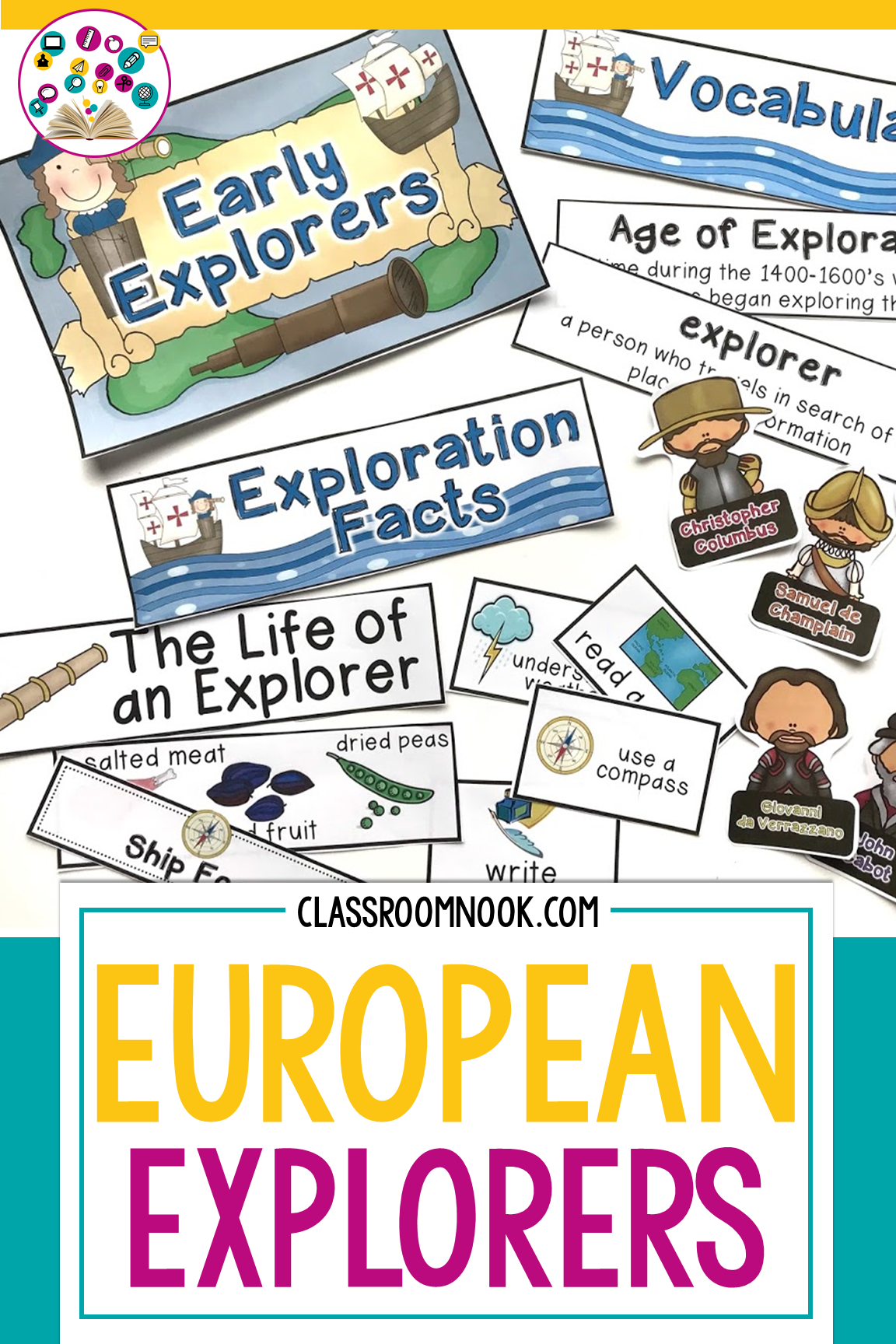 Teaching Early European Explorers   European explorers [ 1728 x 1152 Pixel ]
