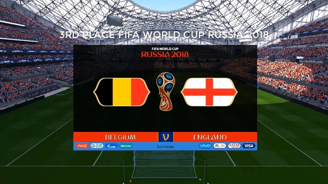 Belgium Vs England Fifa World Cup Russia 2018 3rd Place Pes 2017 Hd