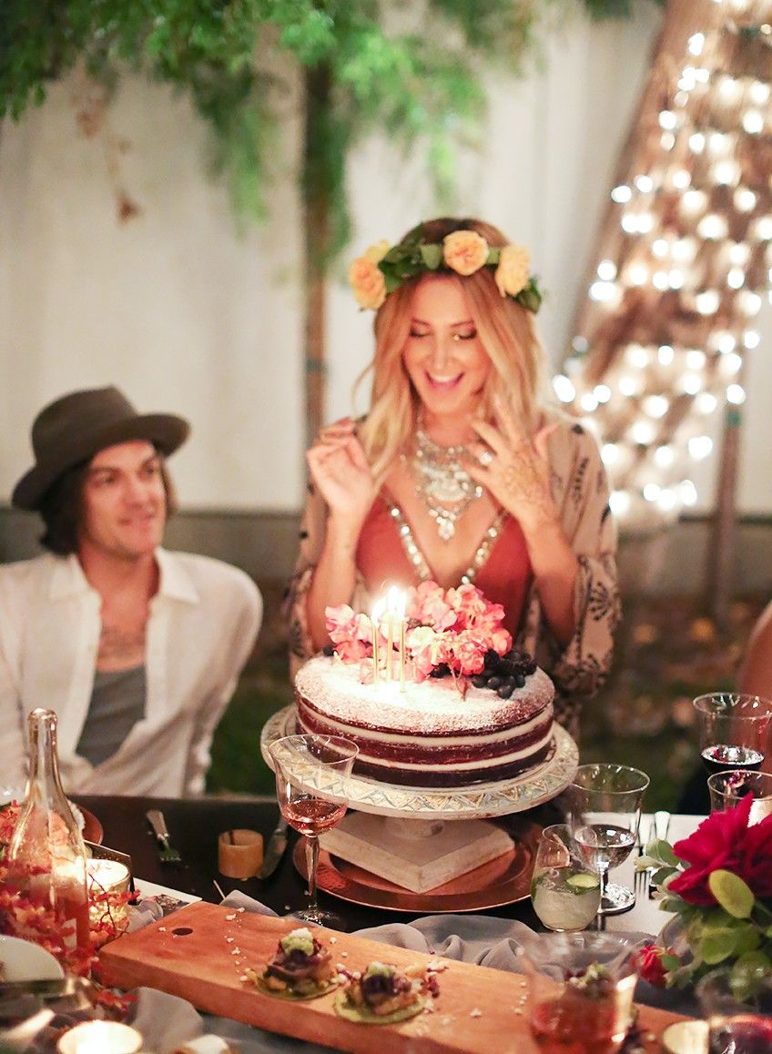 Exclusive Ashley Tisdale Shares Her Boho Chic Birthday Party Via MyDomaine