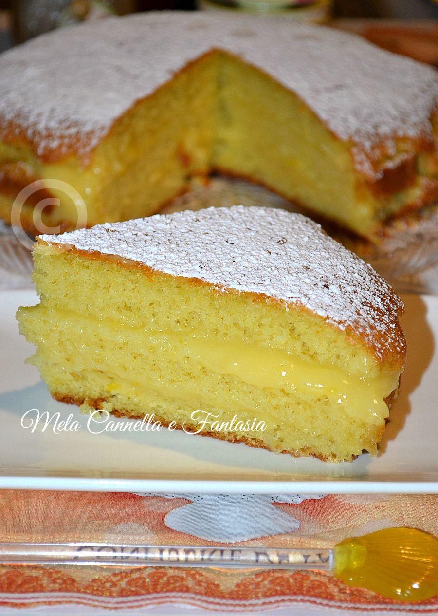 Torta Crema Pasticcera Allarancia Cakes Torte Cake Recipes