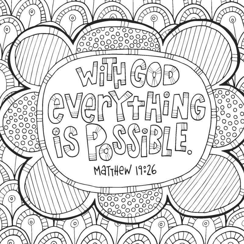 Free Coloring Devotional Pages For Teens The Arc Bible Verse Coloring Page Sunday School Coloring Pages Coloring Devotional