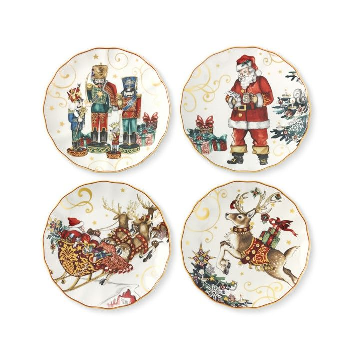Williams Sonoma Christmas Plates.Celebrate 20 Christmas Plates To Make Your Table A Standout