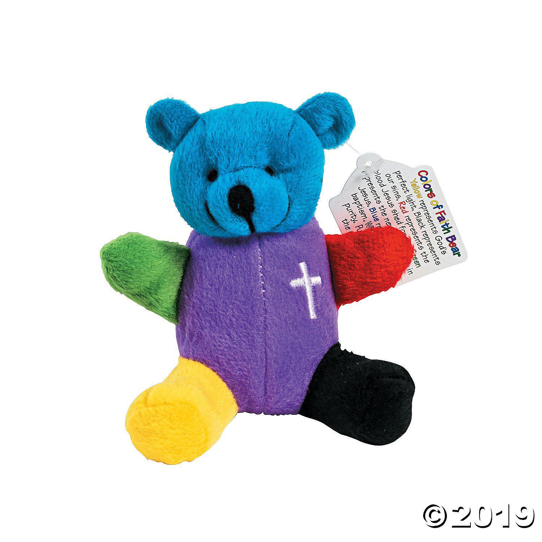 Rainbow Faith Stuffed Bears Teddy bear, Bear, Animals