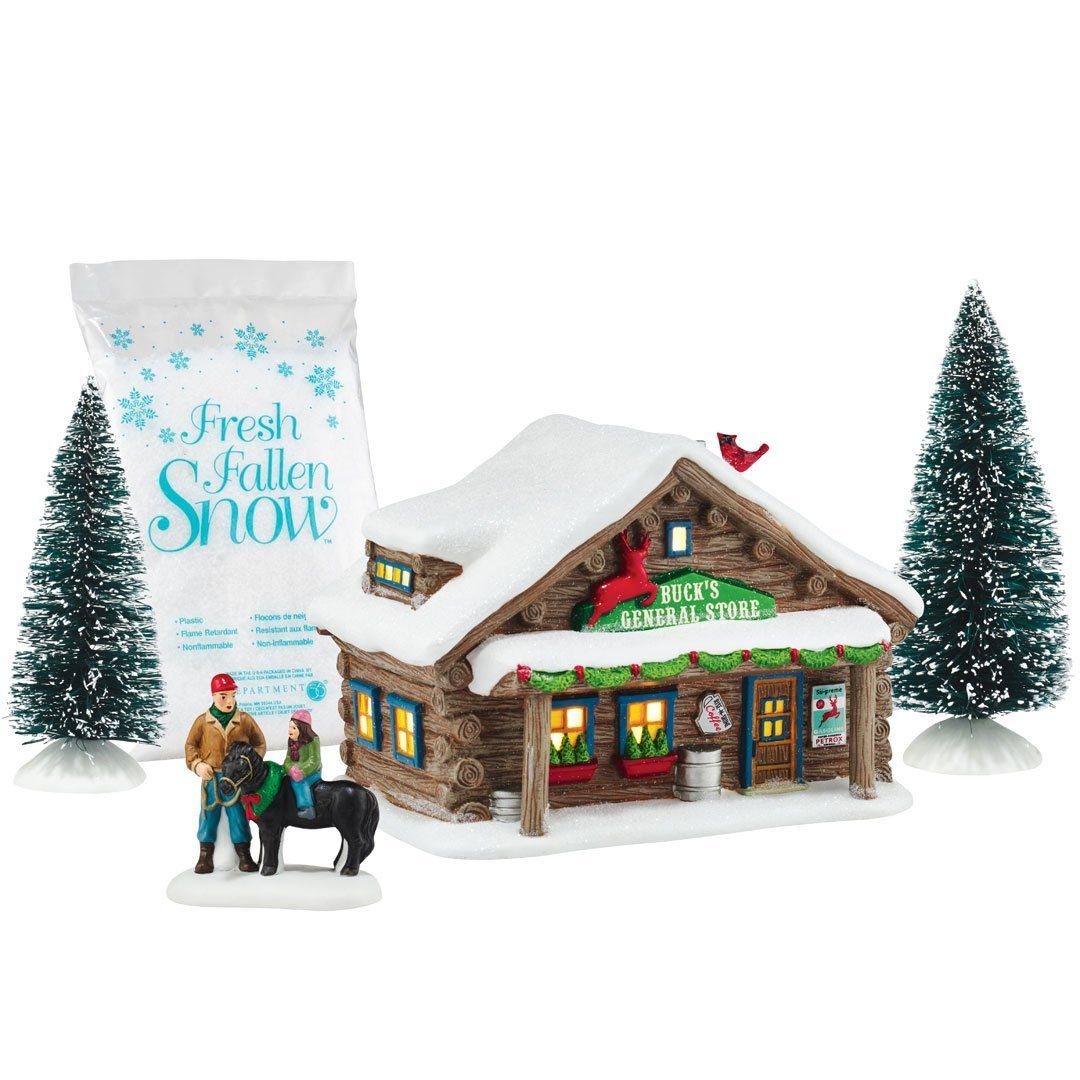 Department 56 by Enesco Holiday In The Woods General Store Gift\' Set ...