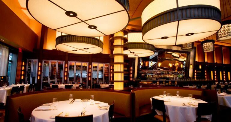 Bobby Flay Restaurants Bar Americain New York City Pre Theatre Dining Times Square Restaurant