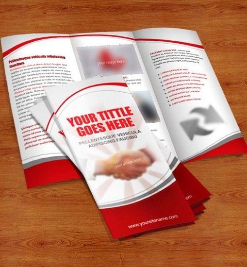 Trpticos Online 30 Plantillas De Folletos Gratis Para Photoshop