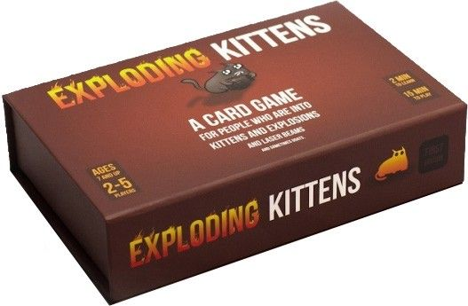 Collectables - Exploding Kittens First Edition Meow Box - Buy Online Australia Beserk
