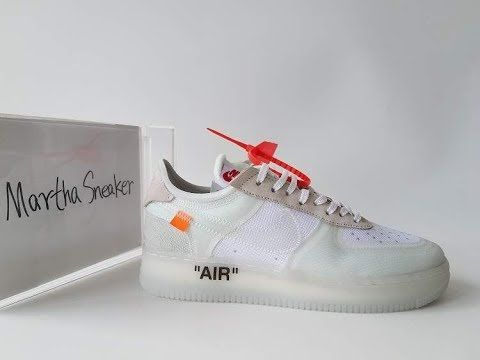 info for 07d90 3548d The Ten Top 10  OFF WHITE NIKE AIR FORCE 1 From Martha s Sneakers Review