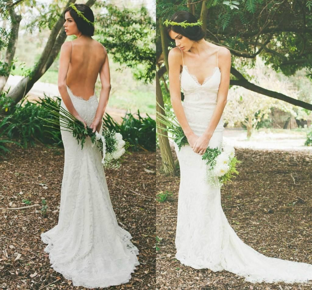 katie may 2016 sexy backless summer holiday boho wedding dresses